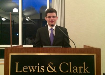 Lucas Bulgarelli, Lewis & Clark College