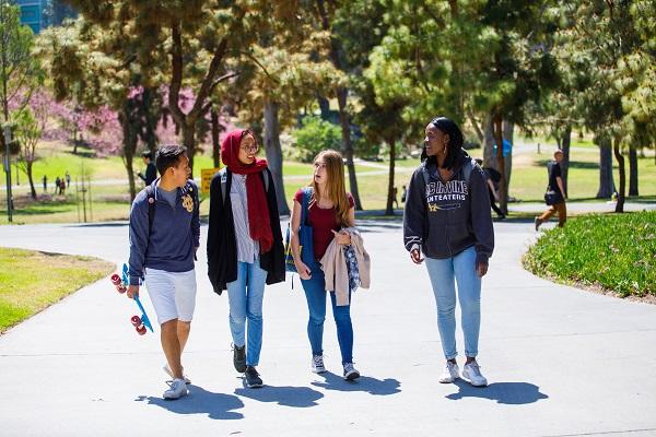 University of California, Irvine students