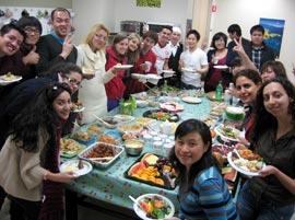 golden gate language schools students party