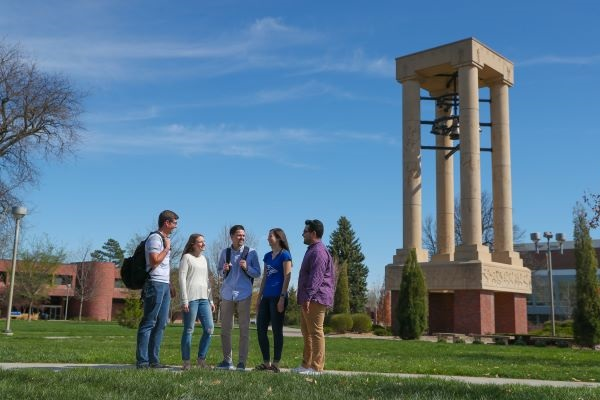 University of Nebraska at Kearney bell tower