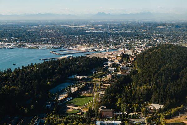 WWU aerial view